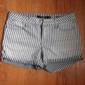 Max Jeans Striped Shorts